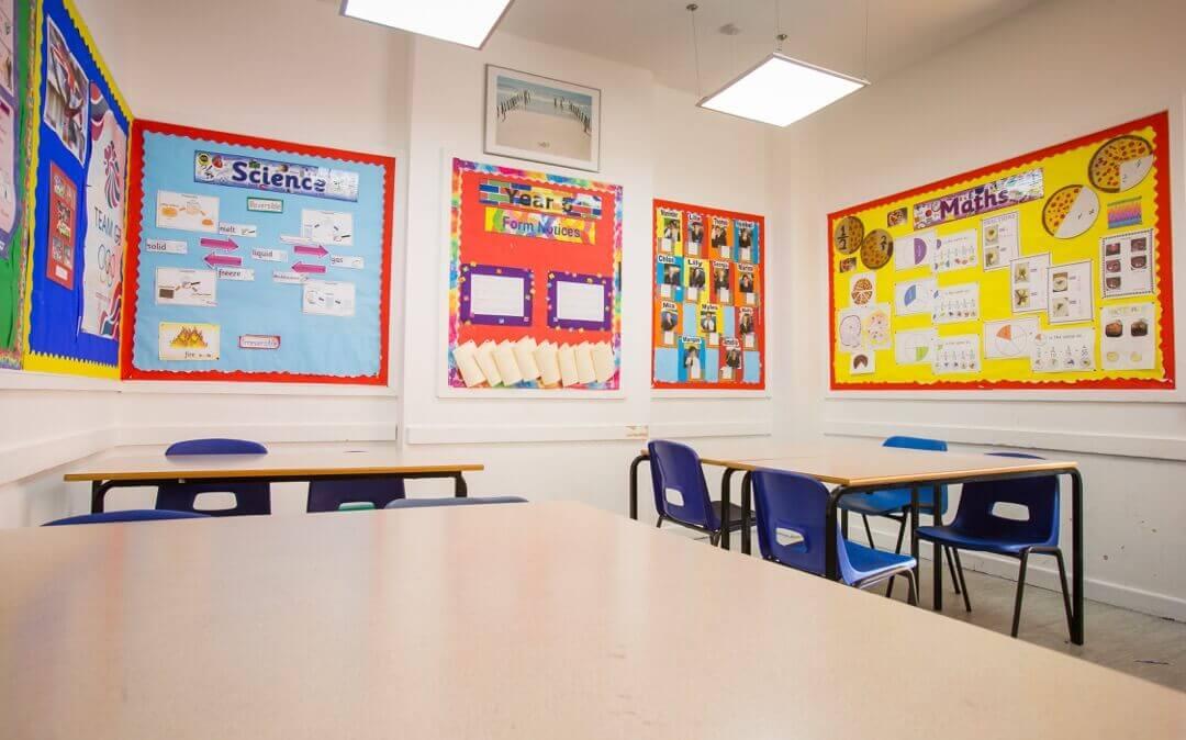 Třida2. Westbourne School ve Velké Británii. MSM Academy