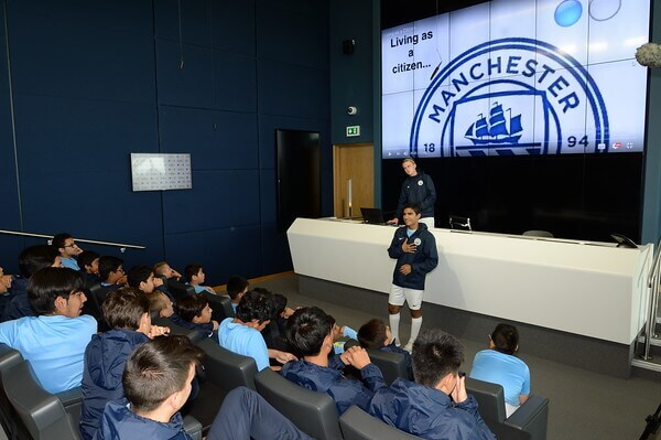 Manchester City FC. The City Football Language School. MSM Academy