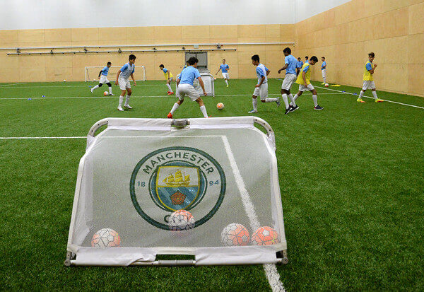 Fotbalové pole4. The City Football Language School. MSM Academy