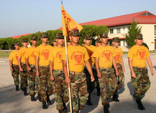 Cvičení 4. Marine Military Academy. MSM Academy