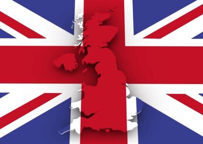 Vlajka Spojeného kráľovstva. Jazykový kurz angličtiny. MSM Academy