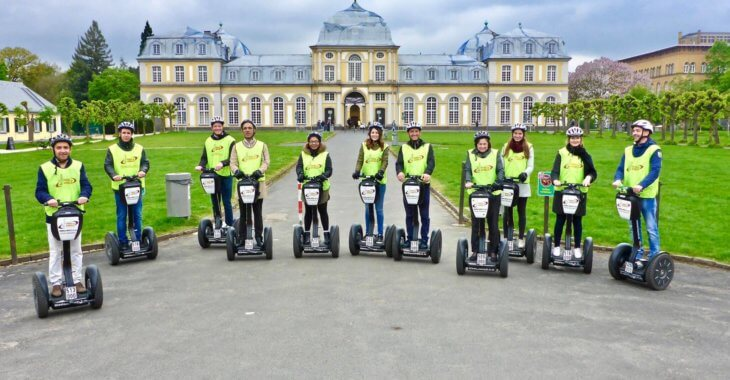 Segways Tour. IUBH School of Business and Management. MSM Academy