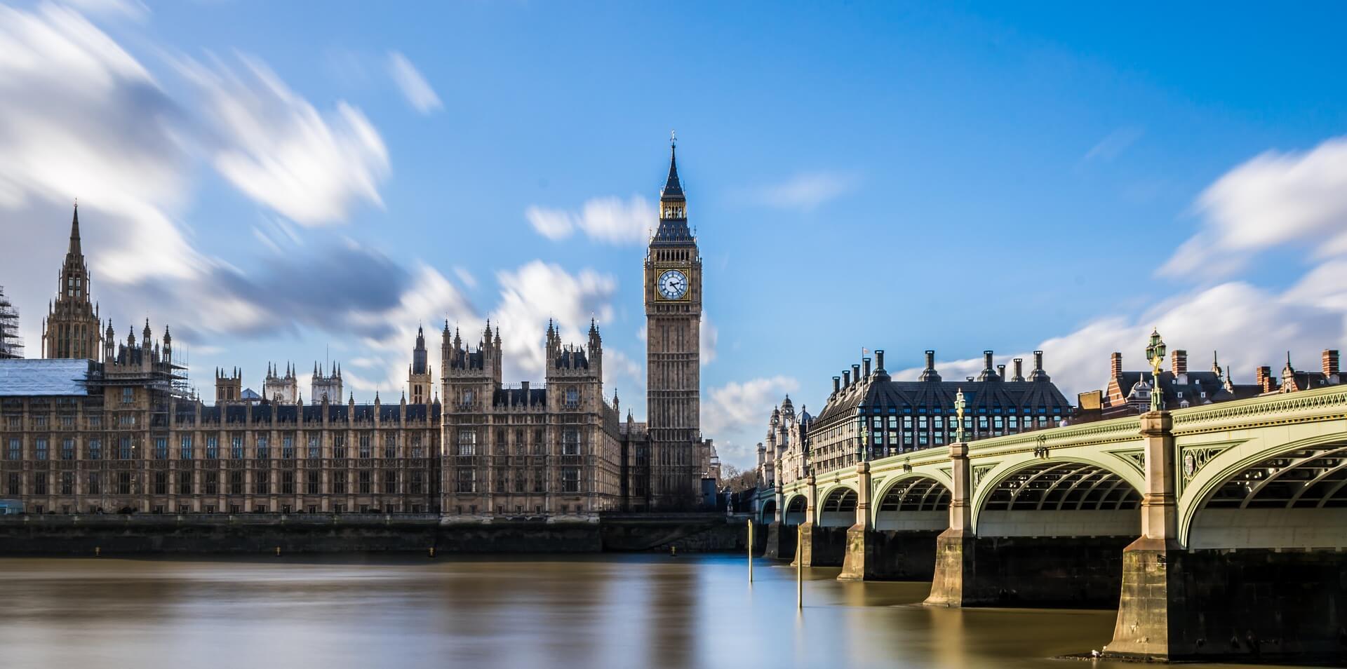 London Big Ben Nabřezi