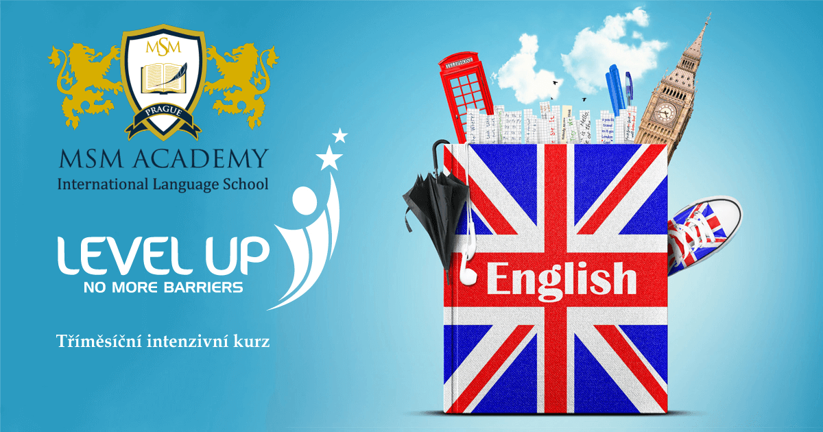 Lelev Up English. MSM Academy Praha