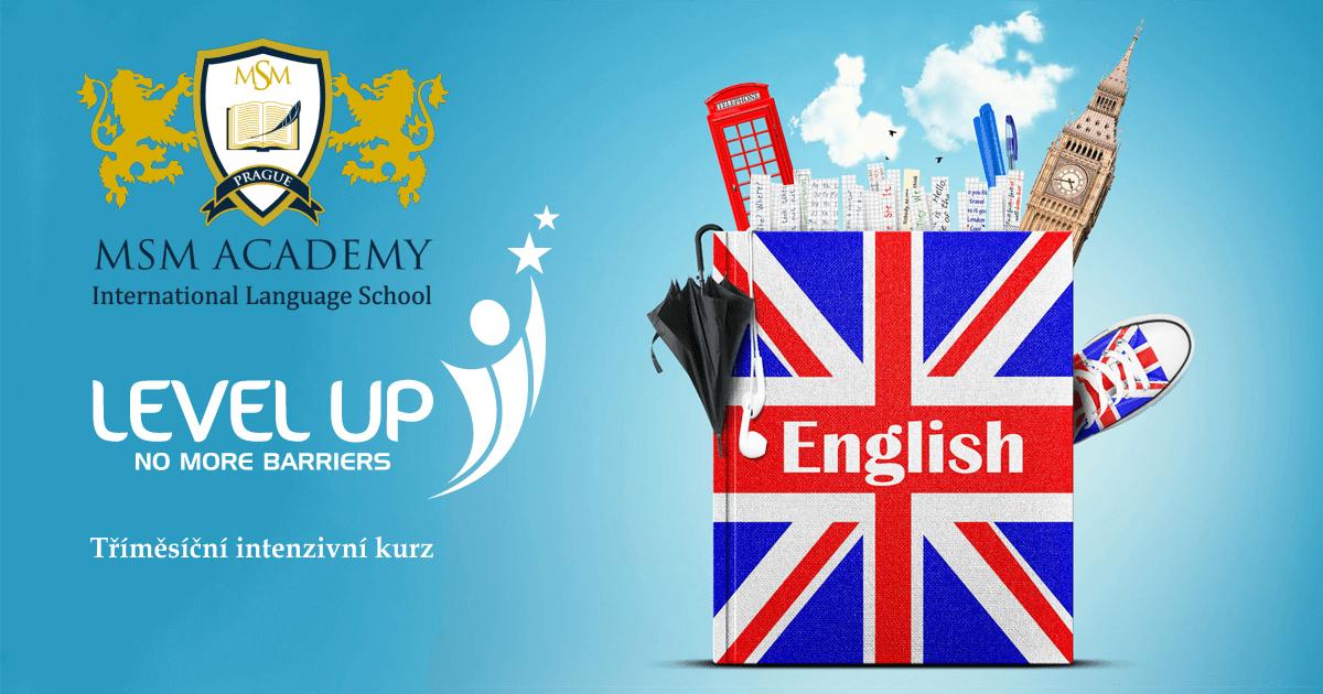 Lelev Up English. MSM Academy Praha