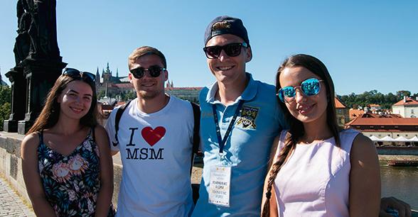 Международный летний лагерь КВН с английским