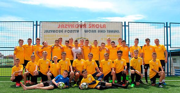 Летний курс футбола с английским языком
