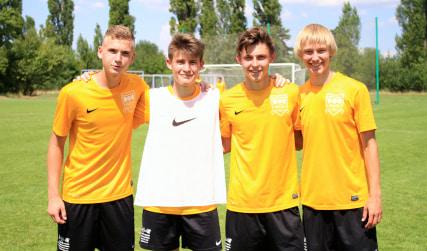 Летняя школа футбола в Праге