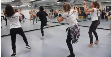 Летняя школа танцев с изучением английского