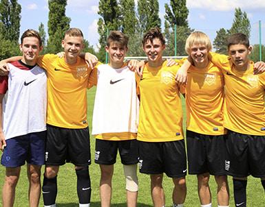 Football Academy in Prague