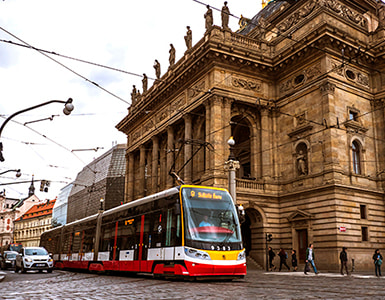 трамваи в чехии