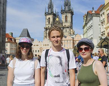 курс английского в Праге
