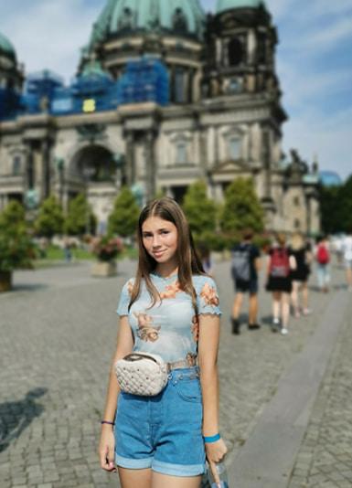 студентка в берлине