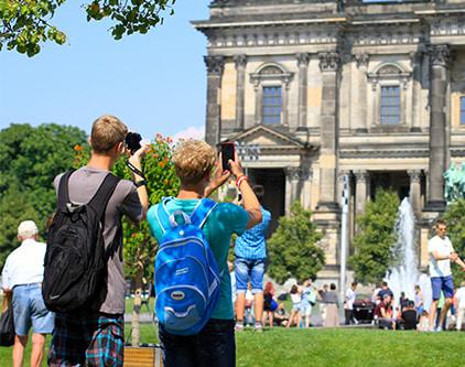 студенты в берлине