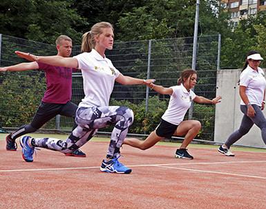 школа тенниса в Чехии