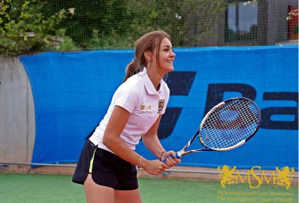 Летний курс тенниса с английским