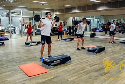 Летний курс фитнеса с изучением английского
